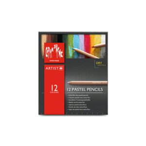 カランダッシュ CARAND'ACHE パステル パステルペンシル 0788-312 12色セット(紙箱入) 【 プレゼント ギフト 】【ペンハウス】 (4560)