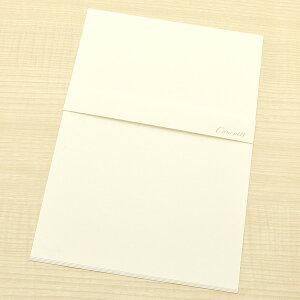 クオレッティ コットン クリーム A5便箋 XG1541 無地【 プレゼント ギフト 】【ペンハウス】 (270)