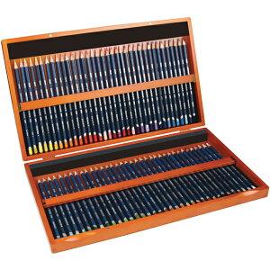 ダーウェント 色鉛筆 ウォーターカラー 32891 72色セット ウッドボックス DERWENT 木製ケース えんぴつ いろえんぴつ 水溶性 水彩 水彩色鉛筆 プレゼント 父の日 おしゃれ 色塗り 色ぬり 大人の