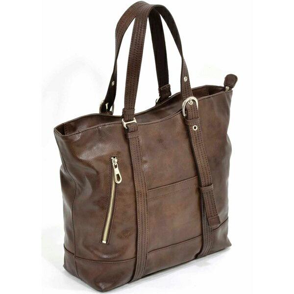 【ビジネスバッグ メンズ】エンドー鞄 PLUS DADDY(プリュス ダディー) 4-541 トートボストン チョコ 【送料無料】【 プレゼント ギフト 】【万年筆・ボールペンのペンハウス】 (10000)