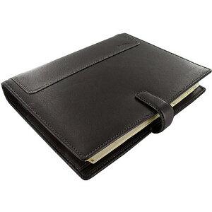 ファイロファックス A5 サイズ ホルボーン システム手帳 F025118 ブラック【 プレゼント ギフト 】【 高級 人気 男性 女性 】