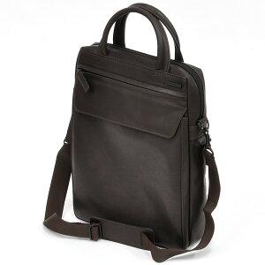 イケテイKARUWAZA鞄ウイングビジネスバック18562-CHOタテ型チョコ(29000)