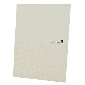神戸派計画 A4サイズ recto planning (レクト プランニング) 01-00357 レポートパッド no.5 5mm方眼  【ペンハウス】(450)【OKM5】