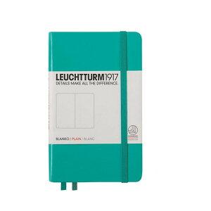 ロイヒトトゥルム  ノートブック  A6  無地 エメラルド 344789 LEUCHTTURM ノート 小さいノート ポケットサイズ かわいい 可愛い 大人可愛い おしゃれ 文房具