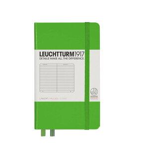 ロイヒトトゥルム  ノートブック  A6  横罫 フレッシュグリーン 357484 LEUCHTTURM ノート 小さいノート ポケットサイズ かわいい 可愛い 大人可愛い おしゃれ 文房具