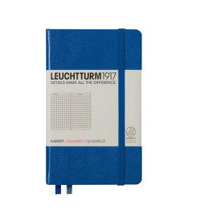 ロイヒトトゥルム  ノートブック  A6 方眼 ロイヤルブルー 344750 LEUCHTTURM ノート 小さいノート ポケットサイズ かわいい 可愛い 大人可愛い おしゃれ 文房具