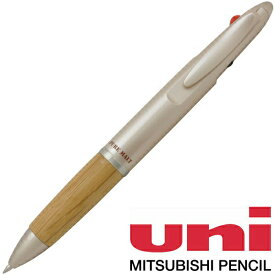 【ボールペン ジェットストリーム】三菱鉛筆 複合筆記具 ピュアモルト ジェットストリームインサイド MSXE3-1005-07-70 ナチュラル