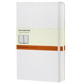 【 今だけ!ポイント10倍 】モレスキン ラージサイズ ハードカバー ホワイト 5180112 QP060WH ルールドノートブック<横罫>【 プレゼント ギフト 】【ペンハウス】 (2900)【OKM10】