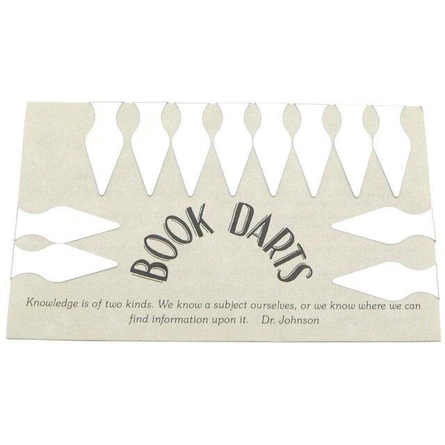 モレスキン アクセサリー ブックダーツ ステンレス 12個入り <BAGタイプ>「ブランド」「デザイン文具」【 プレゼント ギフト 】【万年筆・ボールペンのペンハウス】 (400)