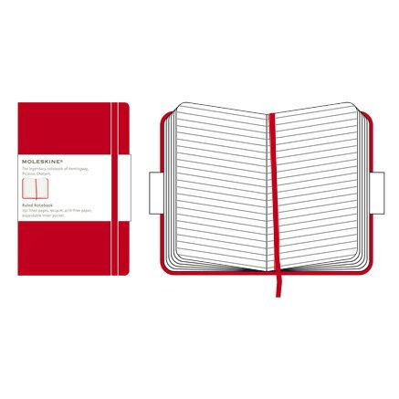 【 今だけ!ポイント10倍 】モレスキン レッドカバー ラージサイズ 404360 QP060RJP ルールドノートブック「ブランド」「デザイン文具」【 プレゼント ギフト 】【万年筆・ボールペンのペンハウス】 (2900)
