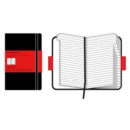 【 今だけ!ポイント10倍 】モレスキン クラシック ラージサイズ 405213 QP064JP アドレスブック「ブランド」「デザイン文具」【 プレゼント ギフト 】【万年筆・ボールペンのペンハウス】 (2900)