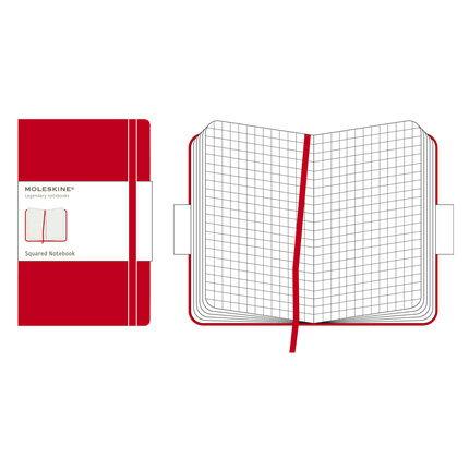 【 今だけ!ポイント10倍 】モレスキン レッドカバー ラージサイズ 404407 QP061RJP スクエアードノートブック「ブランド」「デザイン文具」【 プレゼント ギフト 】【万年筆・ボールペンのペンハウス】 (2900)
