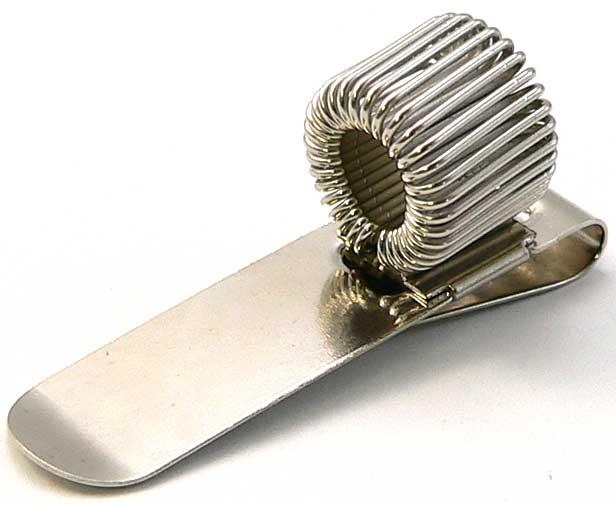 モレスキン 外付けペンホルダー 1本式 シルバー「ブランド」「デザイン文具」【 プレゼント ギフト 】【万年筆・ボールペンのペンハウス】 (600)