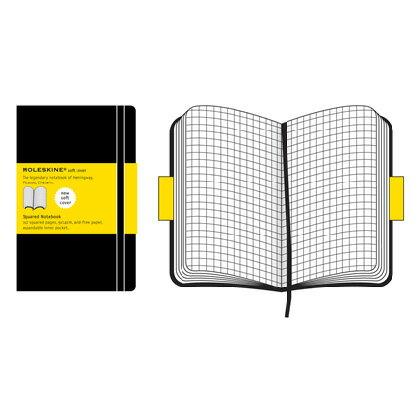 【 今だけ!ポイント10倍 】モレスキン ソフトカバー ポケットサイズ 404865 QP612JP スクエアードノートブック「ブランド」「デザイン文具」【 プレゼント ギフト 】【万年筆・ボールペンのペンハウス】 (2000)