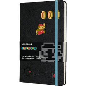 【 今だけ!ポイント10倍 】モレスキン ノートブック 限定版 スーパーマリオ LESMQP060MA 5180935 ラージサイズ マリオインアクション 横罫 【ペンハウス】(3500)【OKM10】