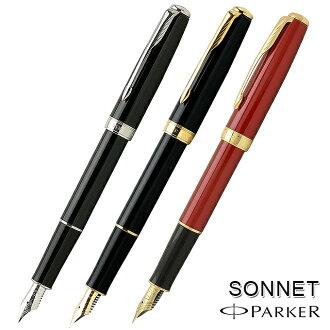 Parker Fountain pen Sonnet original 113010 Rack Black GT (25000)