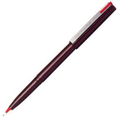 ぺんてる 万年筆 プラマン 赤 単品 JM20-BD【 プレゼント ギフト 】【万年筆・ボールペンのペンハウス】 (200)