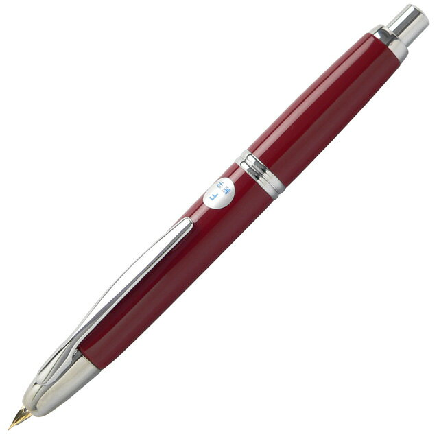 【万年筆 名入れ】パイロット 万年筆 キャップレス シルバー FCN-1MR-DR ディープレッド【送料無料・名入れサービス・ラッピング無料】「ブランド」【PILOT】【Fountain pen】【 プレゼント ギフト 】【ペンハウス楽天市場店】 (10000)