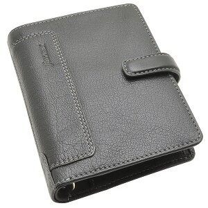 ファイロファックス ポケットサイズ ホルボーン システム手帳 F025115 ブラック【 プレゼント 父の日 母の日 ギフト 】【 高級 人気 男性 女性 】