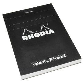 ロディア 単品 ブロックロディア No.12 ブラック ドットパッド 5mmドット方眼 CF12559【 プレゼント ギフト 】【ペンハウス】 (250)