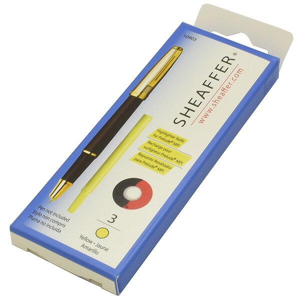 シェーファー 蛍光マーカー替え芯 MPI用 3本入り【万年筆・ボールペンのペンハウス】 (600)