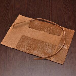 ステッドラーペンケース牛革製(仕切り付)900LC-CAキャメル「ブランド」(3800)