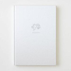 ノート sutta ノートブック MEMENTO_Notebook プラチナシルバー おしゃれ デザイン かわいい 大人可愛い アンティーク