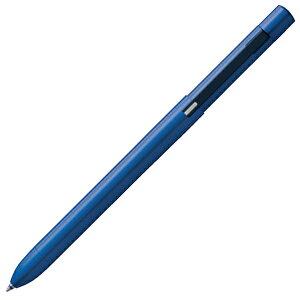 名入れ ボールペン トンボ鉛筆 多機能ペン ZOOM(ズーム) L104 SB-TZLB44 ネイビー TOMBOW シャーペン 0.5mm ボールペン黒・赤+シャープペンシル0.5mm 名前入り 1本から プレゼント 男性 女性 高級ボー