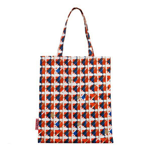 トライストラムス JUBILEEgg トートバッグ M THJMB02YR rhythmオレンジ 「ブランド」「デザイン文具」【 プレゼント ギフト 】【万年筆・ボールペンのペンハウス】 (4000)