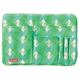 トライストラムス JUBILEEgg バッグインバッグ L THJMM01G sunnyグリーン 「ブランド」「デザイン文具」【 プレゼント ギフト 】【万年筆・ボールペンのペンハウス】 (4500)