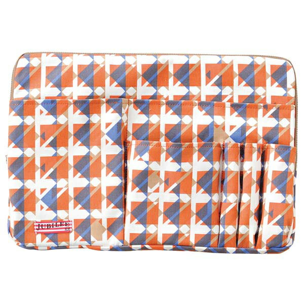 トライストラムス JUBILEEgg バッグインバッグ L THJMM01YR rhythmオレンジ 「ブランド」「デザイン文具」【 プレゼント ギフト 】【万年筆・ボールペンのペンハウス】 (4500)