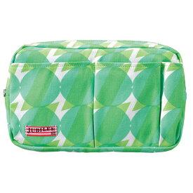 トライストラムス JUBILEEgg バッグインバッグ M THJMM02G sunnyグリーン 「ブランド」「デザイン文具」【 プレゼント ギフト 】【万年筆・ボールペンのペンハウス】 (3000)
