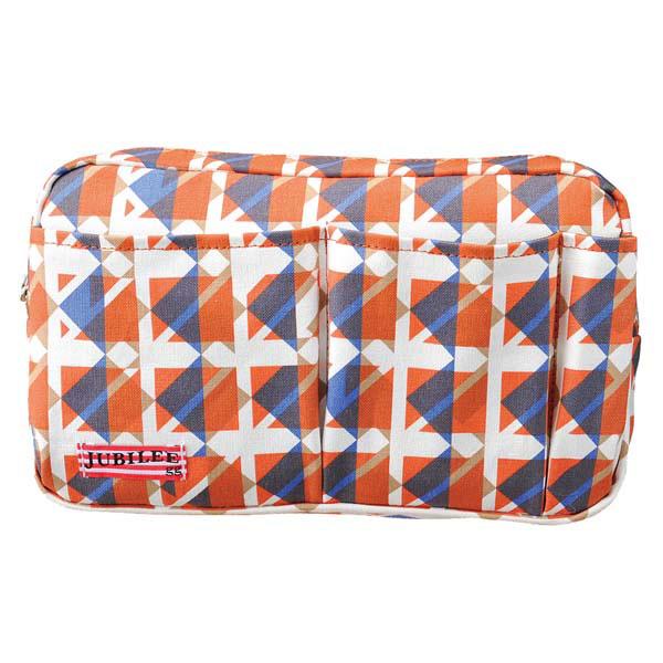 トライストラムス JUBILEEgg バッグインバッグ M THJMM02YR rhythmオレンジ 「ブランド」「デザイン文具」【 プレゼント ギフト 】【万年筆・ボールペンのペンハウス】 (3000)