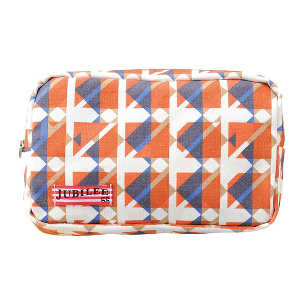 トライストラムス JUBILEEgg ポーチ S THJMM03YR rhythmオレンジ 「ブランド」「デザイン文具」【 プレゼント ギフト 】【万年筆・ボールペンのペンハウス】 (2500)