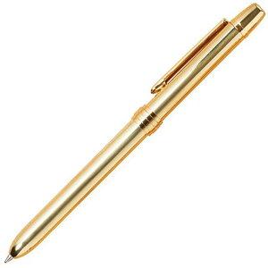 ボールペン トライストラムス 多機能ペン トリプルペン ゴールド THA-PK01K TRYSTRAMS 複合筆記具 複合ペン マルチペン ボールペン黒・赤+シャープペンシル0.5mm プレゼント 男性 女性 高級 高級ボ