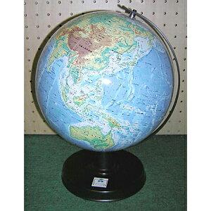 ワタナベ(渡辺教具製作所) 地球儀 卓上地球儀 WBC W-2308 地勢 黒台 プレゼント ギフト