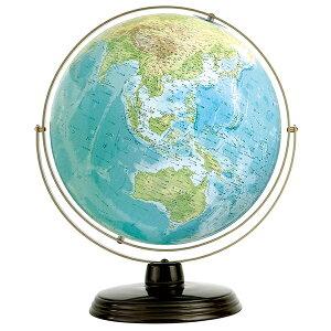 ワタナベ(渡辺教具製作所) 地球儀 衛星地形地球儀 WP W-3301 スチール台 【 プレゼント ギフト 】(28000)