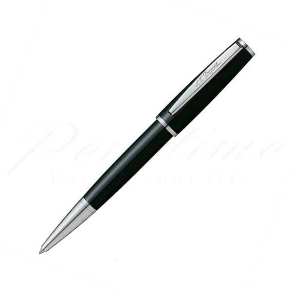 デュポン ボールペン(イージーフロー) サン・ミッシェル 440130 ブラックラッカー/パラクローム <20000>【送料無料】【名入れ無料】【ラッピング無料】【メーカー保証】【ペンタイム】