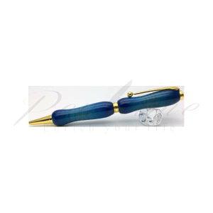 竹内 靖貴 ボールペン Wood Pen エアーブラシ ギター風塗装 キャンディーカラー TGT1621 カーリーメイプル(楓) blue<9000>【名入れ不可】【ラッピング無料】【メーカー保証】【ペ
