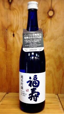 【神戸酒心館】福寿 純米吟醸 ブルーボトル 720ml