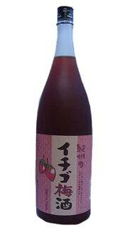 Kishu Strawberry umeshu (plum wine strawberry) 1800 ML