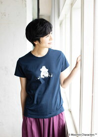 ムーミンオーガニックコットンユニセックスTシャツ【フェアトレード】【ピープルツリー公式】【PeopleTree】【エシカル】【ムーミン】【MOOMIN】