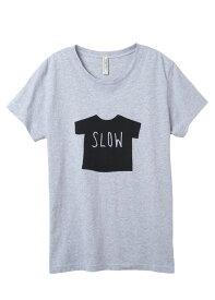 メッセージプリントオーガニックコットン Tシャツ・SLOW【フェアトレード】【ピープルツリー】【PeopleTree】