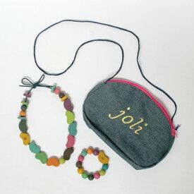 【ポイント2倍】my jewelry set マイジュエリーセット /gg* ジジ / 木のおもちゃ / 出産祝い 誕生日 クリスマス プレゼント ギフト 子供 女の子 アクセサリー ネックレス ブレスレット ポーチ