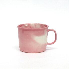 MOISCUP モイスカップ / Strawberry Latte ストロベリーラテ / 100% ヒャクパーセント / 100percent 白 ピンク ホワイト マット 今泉 泰昌 マグカップ 磁器 プレゼント ギフト マーブル