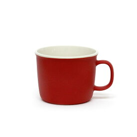 MOISCUP モイスカップ / レッド / 100% ヒャクパーセント / 100percent 赤色 あか アカ red マット 今泉 泰昌 マグカップ 磁器 プレゼント ギフト