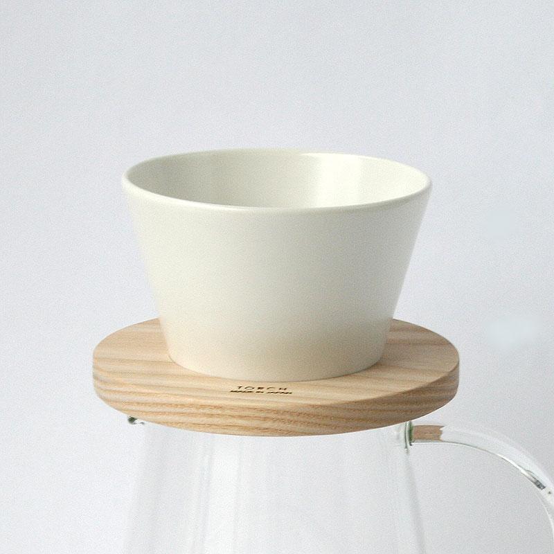 【ポイント2倍】Mountain coffee dripper マウンテンコーヒードリッパー / シロ / TORCH トーチ / コーヒードリッパー 白 マット ハンドドリップ 1〜2人用 coffee