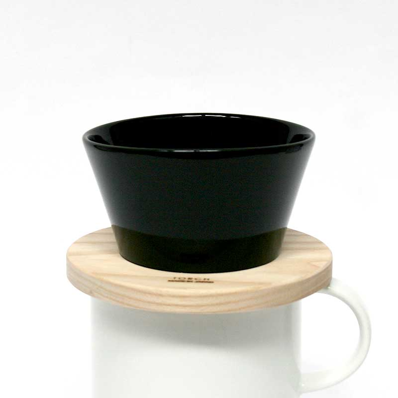 【ポイント2倍】Mountain coffee dripper マウンテンコーヒードリッパー / クロ / TORCH トーチ / コーヒードリッパー 黒 ハンドドリップ 1〜2人用 coffee