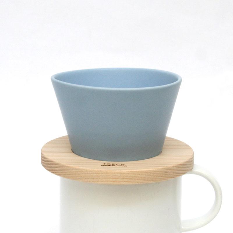Mountain coffee dripper マウンテンコーヒードリッパー / ブルー / TORCH トーチ / コーヒードリッパー 青 マット ハンドドリップ 1〜2人用 coffee マウンテンドリッパー