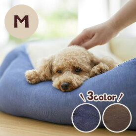 Sippole 2WAYスクエアベッド M 犬 猫 ペット ベッド デニム カジュアル 丸洗い 高品質 あごのせ もっちり ふかふか 通年 リバーシブル シバ 柴犬 フレンチブル PEPPY ペピイ
